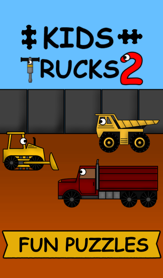 Kids Trucks: Puzzles 2- screenshot
