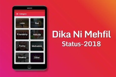 Dika Ni Mehfil : Shayari, Quotes and Status 2.2 Mod APK (Unlock All) 1
