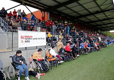 Le Standard a ouvert ses portes à ses supporters handicapés