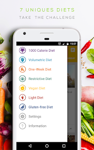 Diet 2018 - lose weight and stay healthy 🥕- screenshot thumbnail