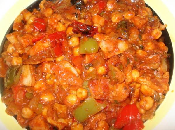 Fried Chickpeas With Bacon, Ham & Chorizo, Garbanzos Fritos Con Tocino, Jamon Y Chorizo Recipe