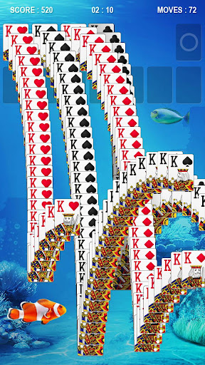 Solitaire - Fish screenshot 10