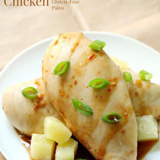 Pineapple Teriyaki Chicken.