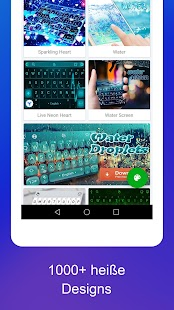 TouchPal Keyboard Pro -Emoji, Sticker & Themen Screenshot