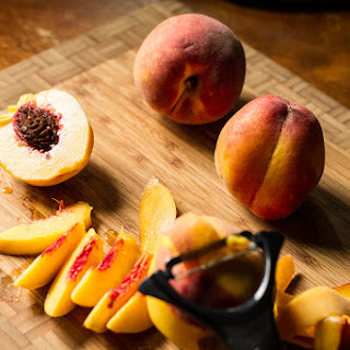 Peach Breakfast Crisp