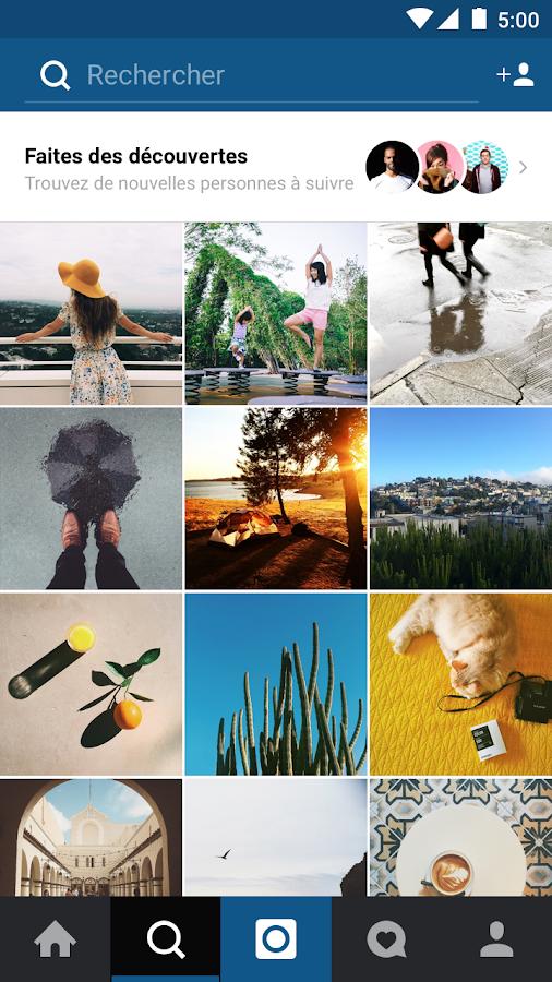 Instagram– Capture d'écran