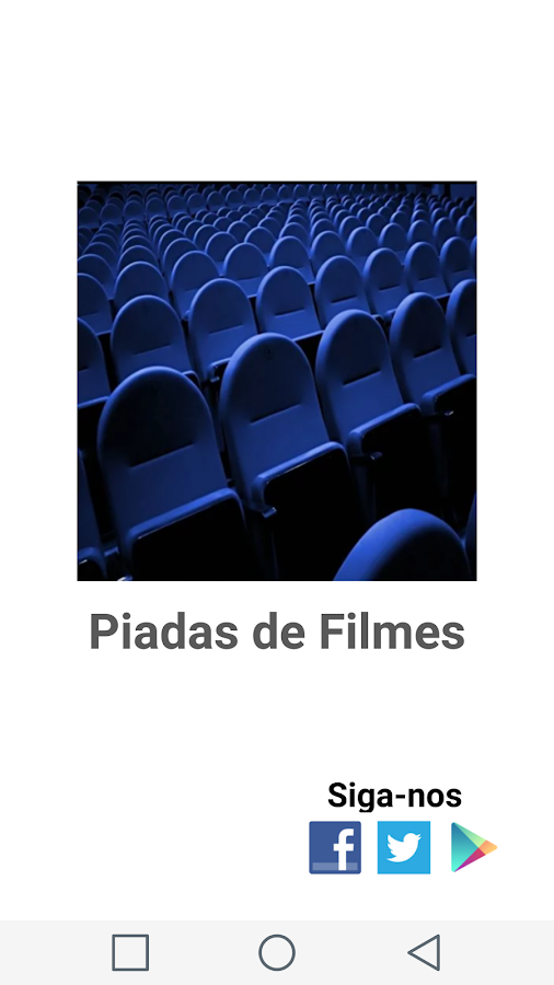 Piadas de Filmes- screenshot