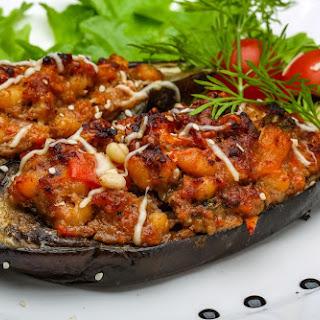 Stuffed Eggplant.