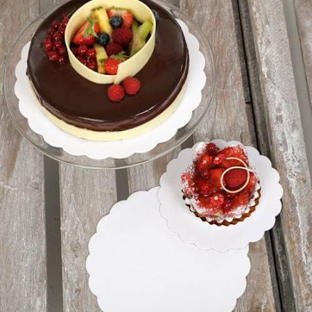 Sous-tartes blanc (rondelles)