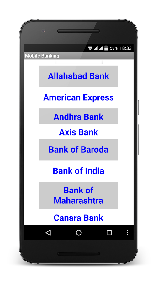 Screenshots of Net Banking - All Banks India for Android