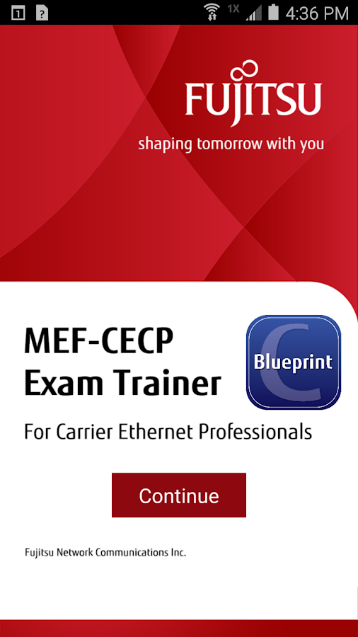 MEF-CECP Exam Trainer C- screenshot