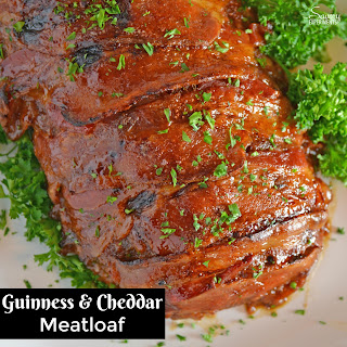 Guinness and Cheddar Meatloaf.