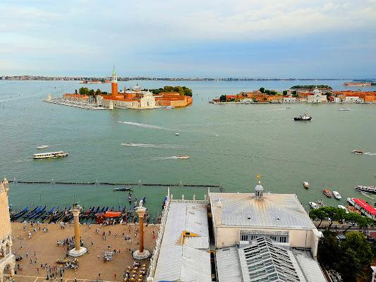 Laguna Veneta dall'alto del campanile di Silvia1990