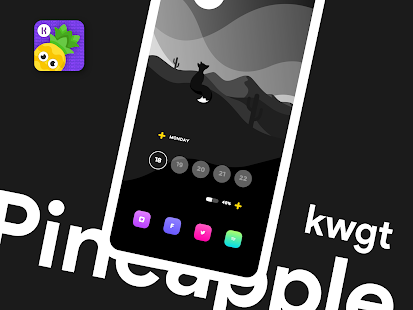 Download Pineapple KWGT For PC Windows and Mac apk screenshot 6