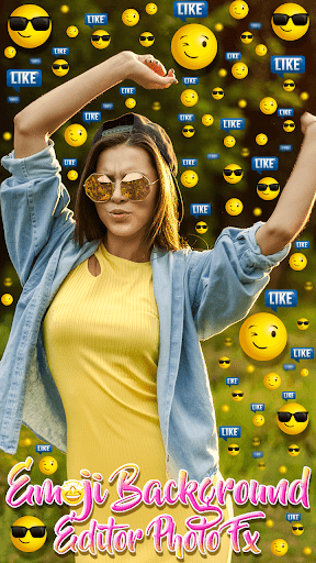 Emoji Background Editor - Photo FX 1.0 Screenshots 2