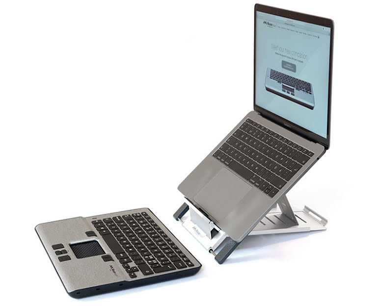Mousetrapper Alpha + Laptop Stand