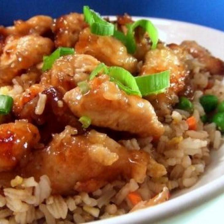 Restaurant Style Orange Chicken Recipe
