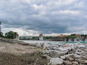 Photo: przedostatnie przenoszenie przez plac budowy na jazie Janowice...