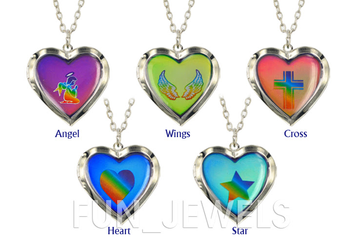 Mood Necklace Colors Chart Rebellions