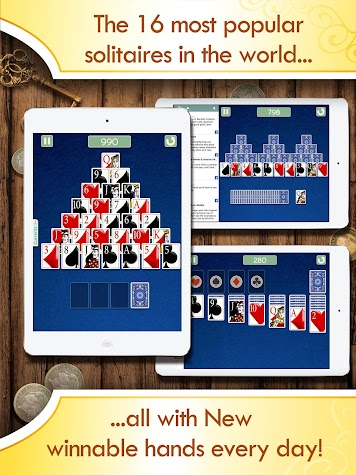 Solitaire Deluxe Social Screenshot