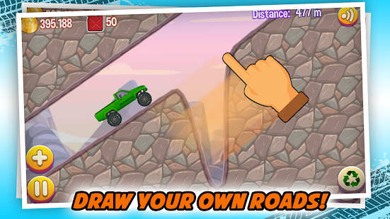 Road Draw: Climb Your Own Hills - náhled