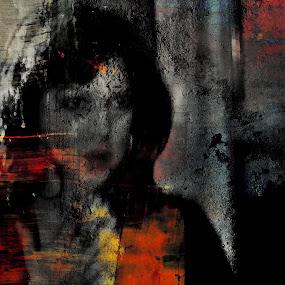 Shadows (portrait) by Dalibor Davidovic - Painting All Painting ( colors, digital painting, digital )