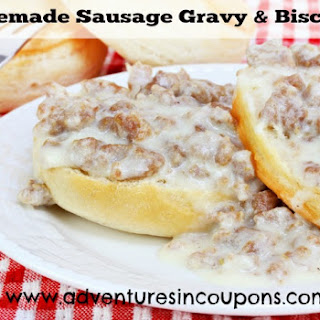 Sausage Gravy & Biscuits Recipe