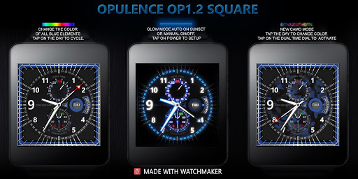 Opulence OP12 Square WatchFace