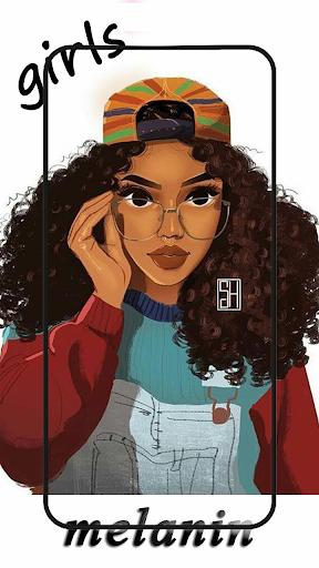 Cute black girls wallpaper melanin screenshot 8