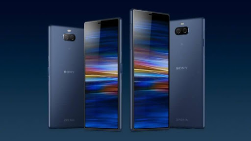 The new Sony Xperia 10 and Xperia 10 Plus.