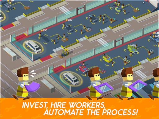 Idle Mechanics Manager u2013 Car Factory Tycoon Game filehippodl screenshot 9