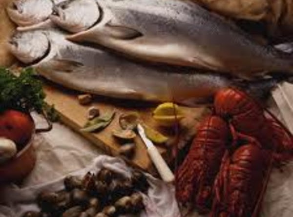 Seafood Seafood is an excellent source of protein because it's usually low in fat. Fish...