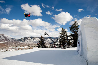 Photo: Winter X Games Aspen, flying high!