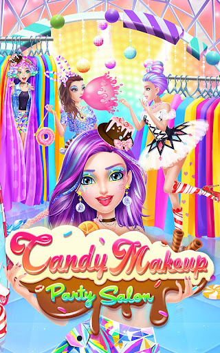 Candy Makeup Party Salon screenshots 6