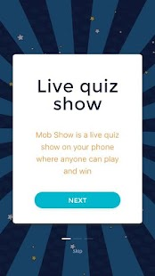 Mob Show- The Live Quiz Show with cash prizes - náhled