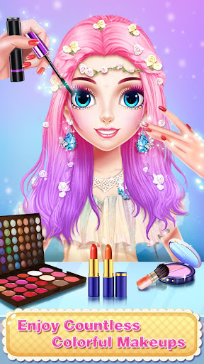 ud83dudc78ud83dudc78Princess Makeup Salon 6 - Magic Fashion Beauty 2.3.5009 screenshots 1
