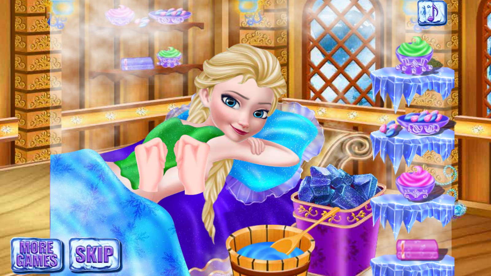 Ice Queen Makeup Salon- screenshot