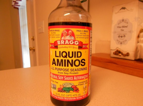 *These are the ingredients I used, but feel free to make substitutions.   Bragg's Liquid...