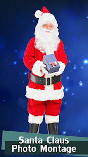 Santa Claus Photo Montage - náhled