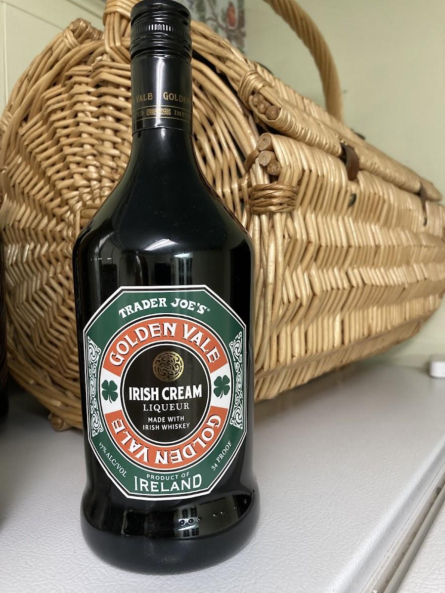 Golden Vale Irish Cream Whiskey