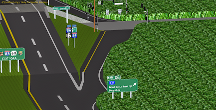 Photo: I-86 / NY 17 At Exit 3 in Equestria (MLP-FIM land) *Currently being updated/changed*