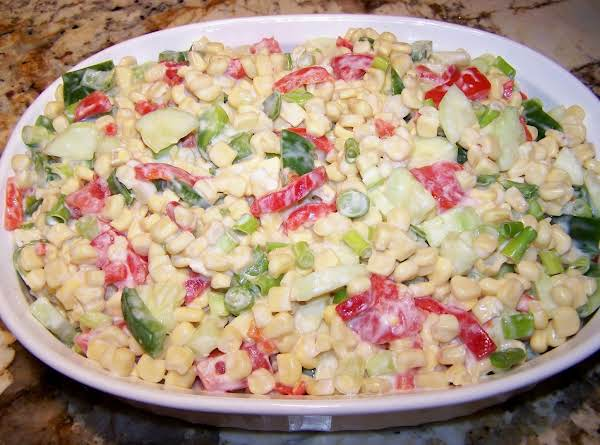 Summertime Corn Salad Recipe