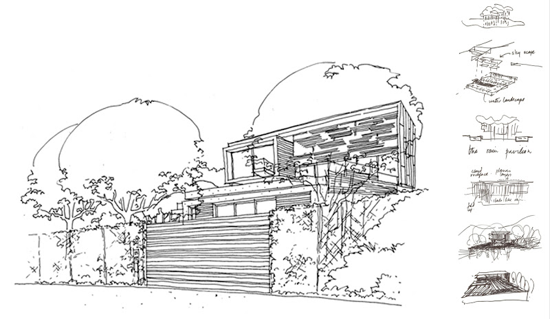 Photo: Spa House - Sketches