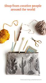 Etsy: Handmade & Vintage Goods Screenshot 1