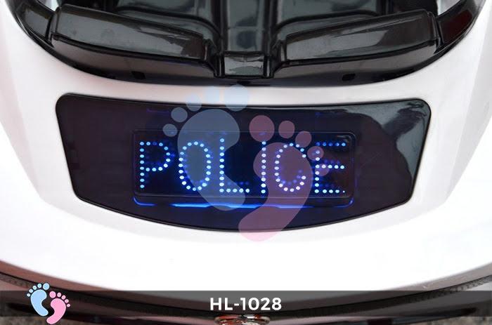 Xe ô tô điện cảnh sát HL-1028 11
