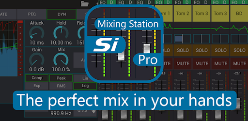 Remote control Si Performer mixer with your android device.