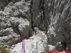 Photo: IMG_4207 Ivan nel camino del terzo tiro della Via del Topo