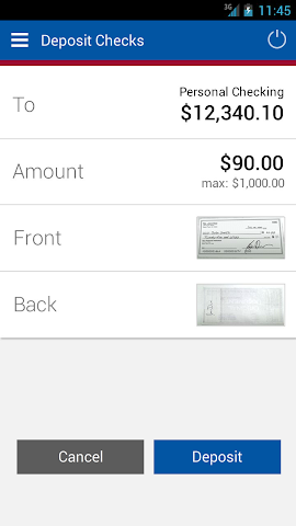 android First Savings Mobile Banking Screenshot 13