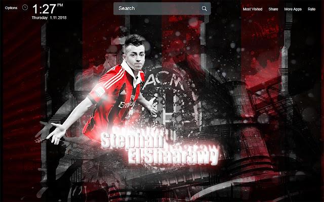 AC Milan Wallpapers Theme New Tab