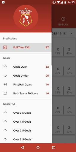 Football Tips & Stats - A Football Report 2.4 Screenshots 2